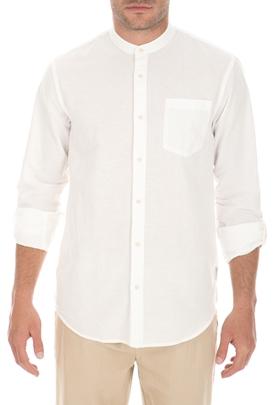 c7e4d0a10422 SCOTCH   SODA-Ανδρικό μακρυμάνικο πουκάμισο SCOTCH   SODA λευκό