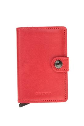 SECRID-Θήκη καρτών SECRID Miniwallet Original κόκκινη