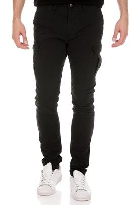 SUPERDRY-Ανδρικό παντελόνι SUPERDRY SURPLUS CARGO μαύρο