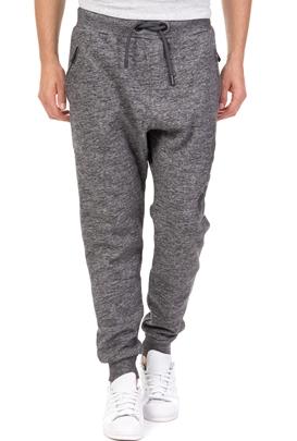 1f5e4067c2e SUPERDRY-Ανδρικό παντελόνι φόρμας D3 TIME TRIAL γκρι