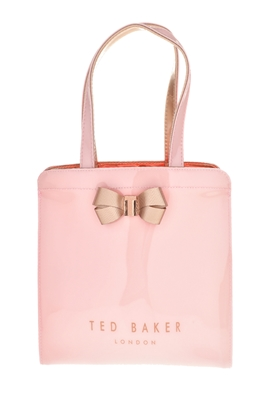 TED BAKER-Γυναικεία τσάντα πλάτης KRISCON BOW DETAIL SMALL ICON ροζ