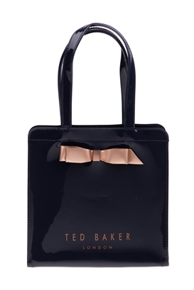 4ff22e4123 TED BAKER-Τσάντα ώμου ARYCON BOW DETAIL SMALL ICON TED BAKER μπλε