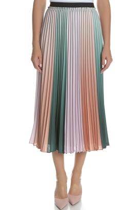 c5e09cbb8f TED BAKER-Γυναικεία midi πλισέ φούστα TED BAKER πολύχρωμη