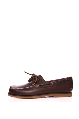 TIMBERLAND-Ανδρικά boat shoes TIMBERLAND Classic Boat 2 Eye καφέ