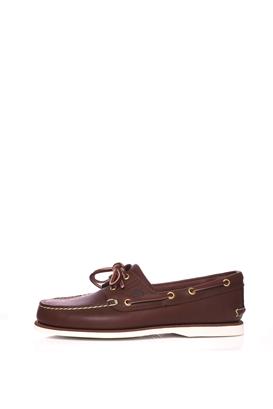 TIMBERLAND-Ανδρικά boat shoes TIMBERLAND EYE καφέ