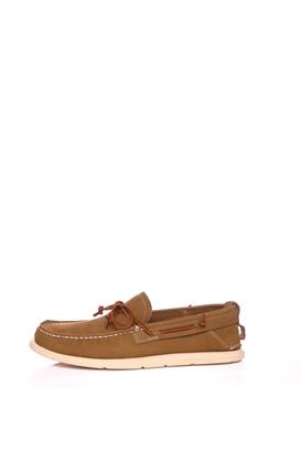 UGG AUSTRALIA-Ανδρικά παπούτσια UGG BEACH MOC SLIP-ON καφέ