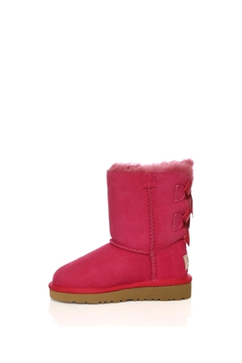 UGG-Βρεφικές μπότες Ugg φούξια με φιόγκους
