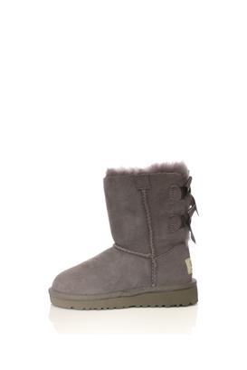 UGG-Βρεφικές μπότες Ugg γκρι με φιόγκους